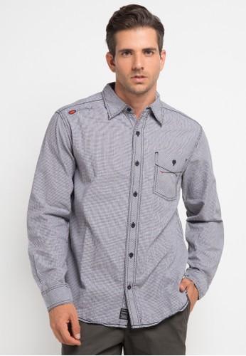 Bombboogie grey Second Matrix Shirt BO419AA0V716ID_1