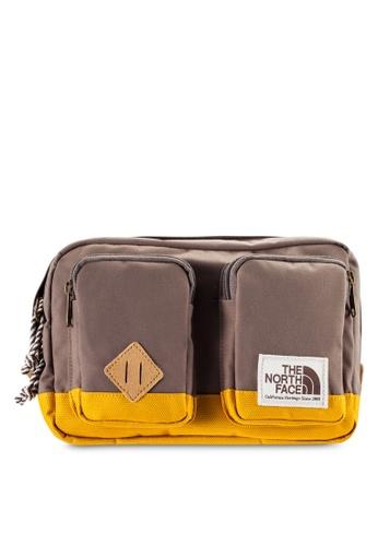 The North Face brown Kanga Waistpack TH274AC62IEFMY_1