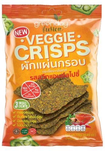 Greenday green Greenday Veggie Crisp Sweet & Spicy 14g E1E59ES5530431GS_1