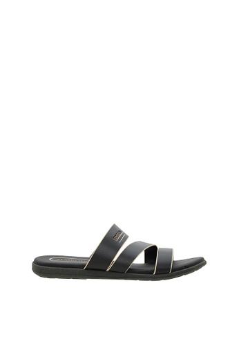 SEMBONIA black SEMBONIA Men Synthetic Leather Sandal (Black) A63C4SHDD6B40BGS_1