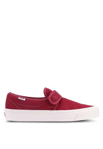 0e04087815 VANS red Slip-On 47 V DX Anaheim Factory 55696SHFDD9449GS 1