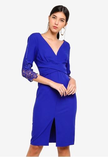 Little Mistress blue Cobalt Bodycon Dress 9E36FAA058BD5BGS_1