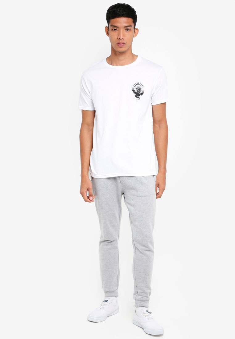 OBEY Shirt Obey Of White T Cult Smoke Dark xOwzTY