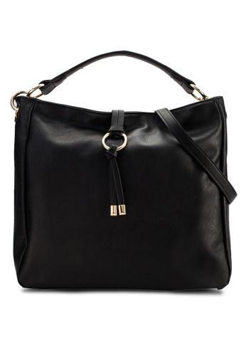 Perllini&Mel black Faux Leather Single Handle Bag PE444AC23WGEMY_1