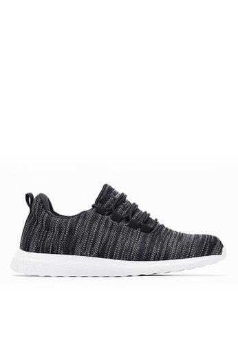 Life8 black Lightweight Sport Shoes-09709-Black LI283SH0GOHKSG_1