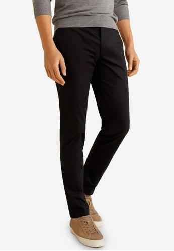 fad3b144d205a4 Buy MANGO Man Slim-Fit Chinos Trousers Online on ZALORA Singapore