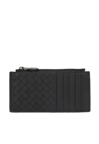 Bottega Veneta black Card Holder 621D2AC6FB9596GS_1
