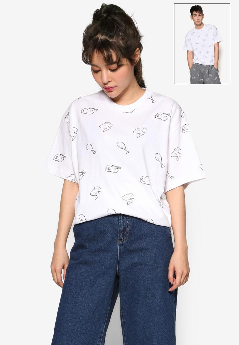 Chicken All Over Short Sleeve T-Shirt