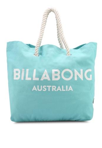 Billabong green Essential Beach Bag FFA2CAC7F2AE8BGS_1