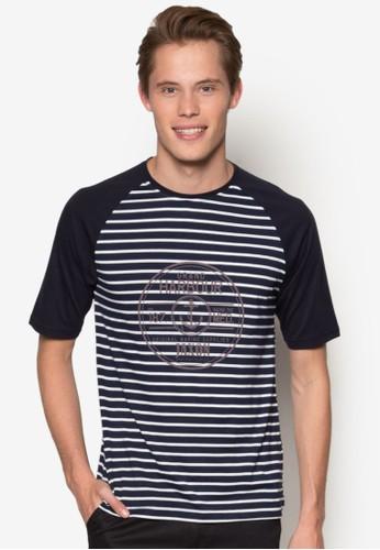 色塊拉克esprit outlet 家樂福蘭短袖上衣, 服飾, T恤