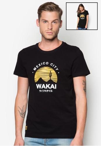 Ocaso 圖文圓領TEesprit 西裝E, 服飾, 印圖T恤
