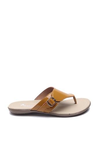 Dr. Kevin brown Dr. Kevin Women Flat Sandals 27342 - Cream DR982SH57NDAID_1