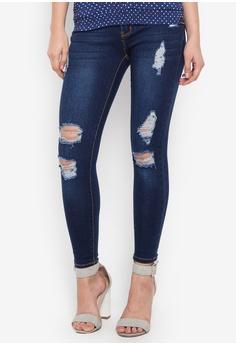 Hot Kiss blue Ladies Pants Jeans C2762AA78F911AGS_1