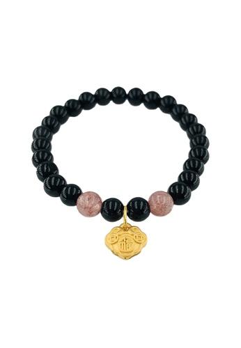 Arthesdam Jewellery Arthesdam Jewellery 999 Gold Prosperity Lock Coin Bracelet - 19cm 38441AC1067A80GS_1