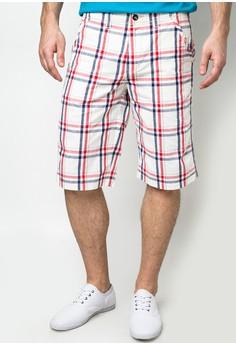 Kurt Check Red Short