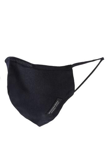 SCOTCH & SODA black Facemask Ladies With Nano-Filter - Organic Cotton 6A890ESBD85AF5GS_1