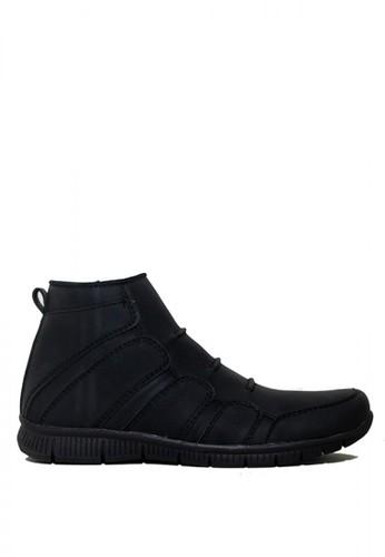 D-Island black D-Island Shoes Slip On Fold Office Mens Black 6F03CSH8A38810GS_1