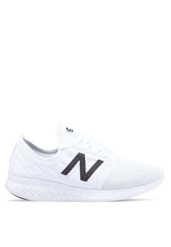 New Balance white Coast Fitness Running Lace Shoes 6941CSHB116F87GS_1