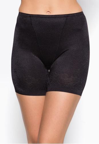 Impression black Seamless Femme Long-Legged Girdle IM021AA52HETSG_1