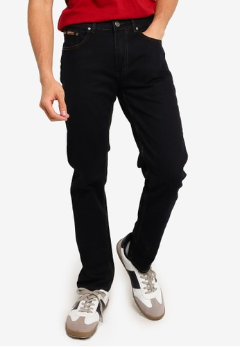 Fidelio black 505 Slim Fit Classic Denim Jeans AFD82AA88B988DGS_1