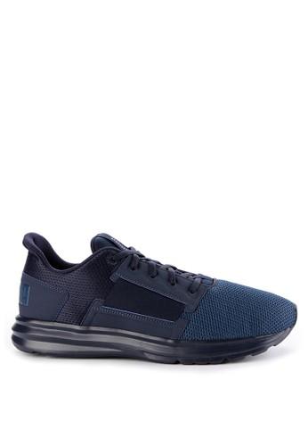 Puma navy Enzo Street Shoes 86BF0SHCEA228BGS_1