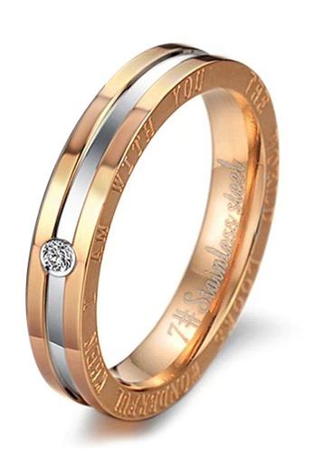 Trendyshop gold Lady's  Rings 53283AC61509D1GS_1
