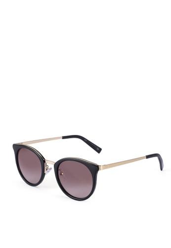 Le Specs black No Lurking 2002206 Sunglasses 807E8GLD1039C8GS_1