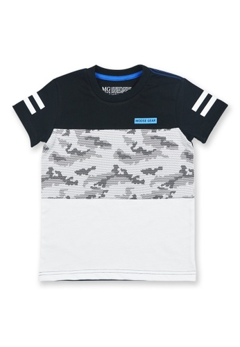 Moose Gear black and white Boys T-Shirt With Combi Print B7CDBKAA83BEF7GS_1