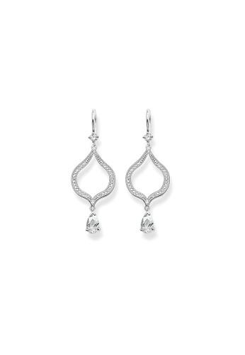 Thomas Sabo silver Lotus Earrings 83080ACEC06A32GS_1