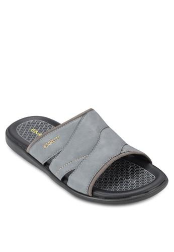寬帶休閒拖鞋, 鞋, 拖esprit台北門市鞋