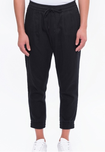 Alpha Style black Aahil Jogger Pants AL461AA0FVC0SG_1