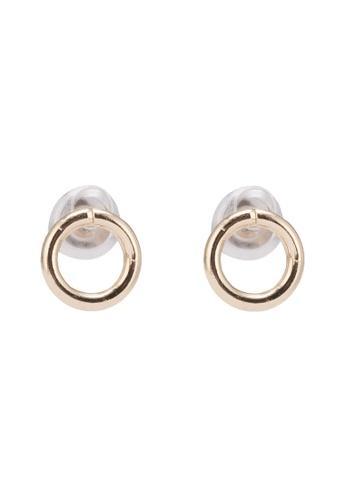 Orelia London gold Mini Open Circle Stud Earrings OR747AC0SC2IMY_1