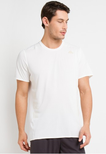 adidas white Adidas Supernova Shirt B46FBAA2C62568GS_1