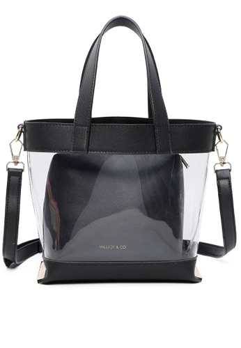 Milliot & Co. black Hannah Totes Bags 59868AC5BE33F4GS_1