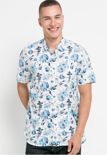 Men's Top white ENERO 1 - WHITE Shirt 5FC53AA1293900GS_1