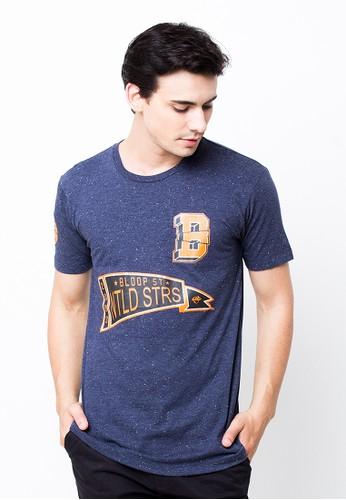Bloop Tshirt H State Neps Navy BLP-PB028