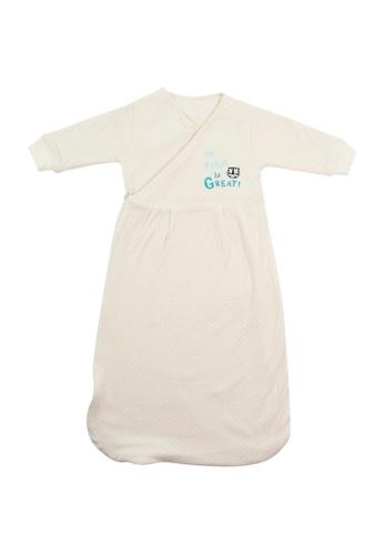 Bebeganic beige 100% Natural Cotton Sleeping Bag F6100KC966D397GS_1