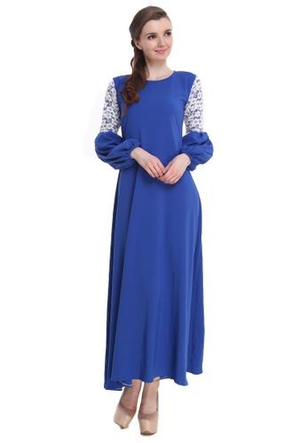 Amar Amran blue Jubah Zara 162C4AAB4977C9GS_1