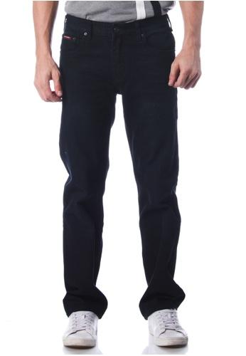 POLO HAUS black Polo Haus - Straight Cut Jeans (Black) PO783AA83JNWMY_1