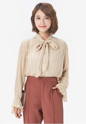 26a6d02df671c9 Buy Yoco Pleated Victorian Blouse