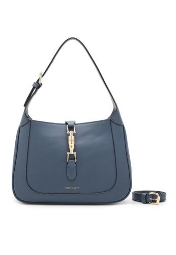 Volkswagen blue Women's Hand Bag / Top Handle Bag F948FAC62B2769GS_1