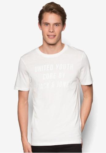 文字設計短袖TEE, 服飾, 服esprit 見工飾