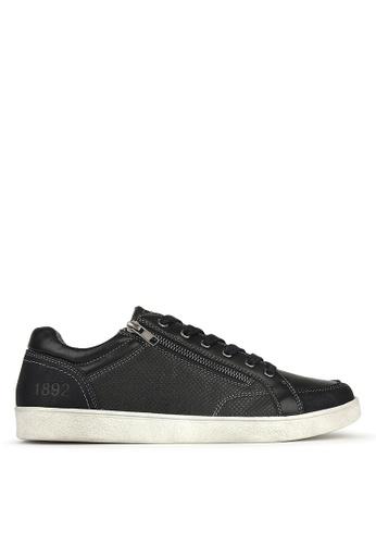 Betts black Zippy Lifestyle Sneakers 07C0BSH274943BGS_1