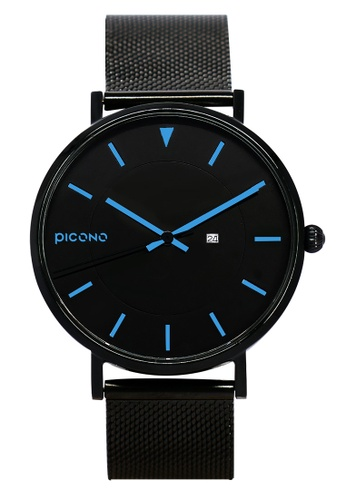 PICONO Watches black Rgb Collection Quickly Release Stainless Steel Strap Watch PI771AC2VUSJHK_1