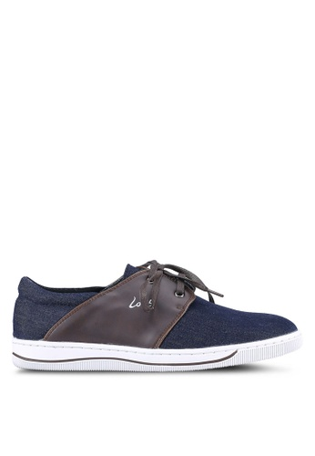 Louis Cuppers blue Denim Sneakers LO977SH0S9SJMY_1