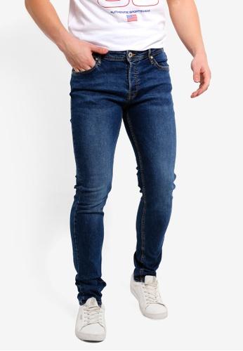 Jack & Jones 藍色 Glenn Original 修身牛仔褲 3F54AAAC44872EGS_1