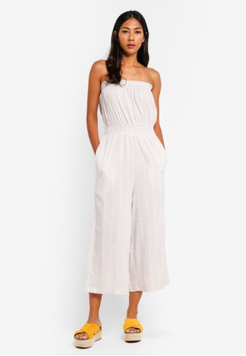 63f42f427c74 Shop Cotton On Woven Callie Bandeau Jumpsuit Online on ZALORA Philippines