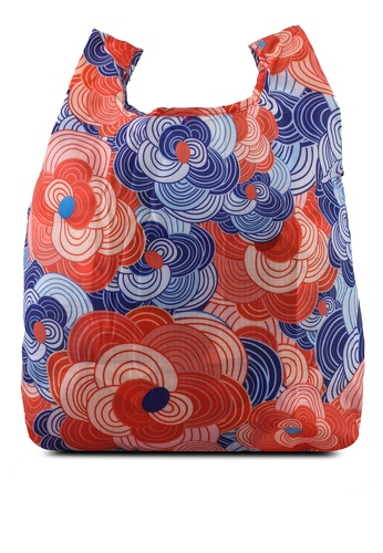 Milliot & Co. blue 2-Pack Bag-for-Life Reusable Shopping Bags D8067ACFA631CEGS_1