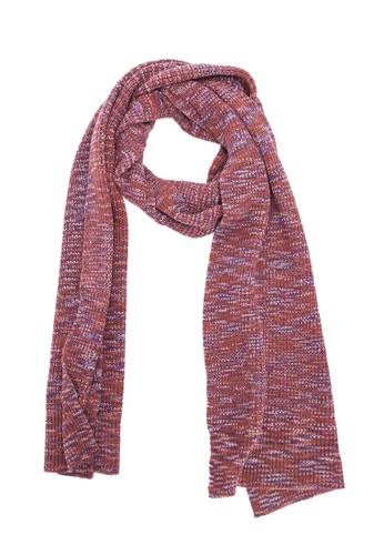 藏式條紋圍巾 - 深紫, 飾品配zalora 泳衣件, 披肩