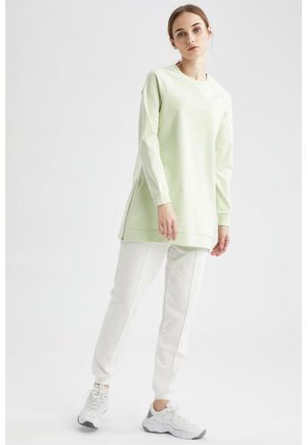 DeFacto blue Woman Knitted Sweat Tunic 71429AA722F14CGS_1